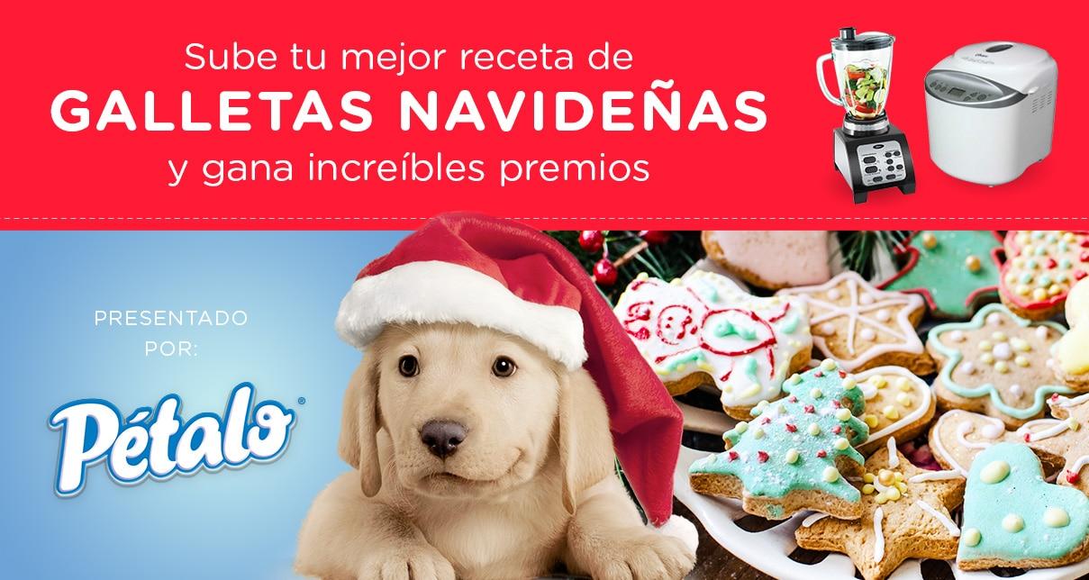 !Sube tu Mejor Receta de Galletas Navideñas!