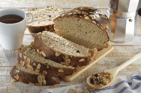 Pan de Miel con Granola