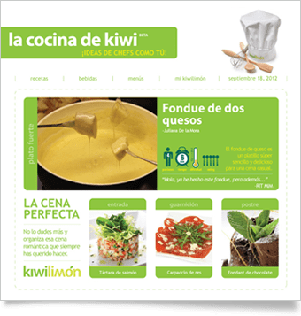 El newsletter de Kiwilimon