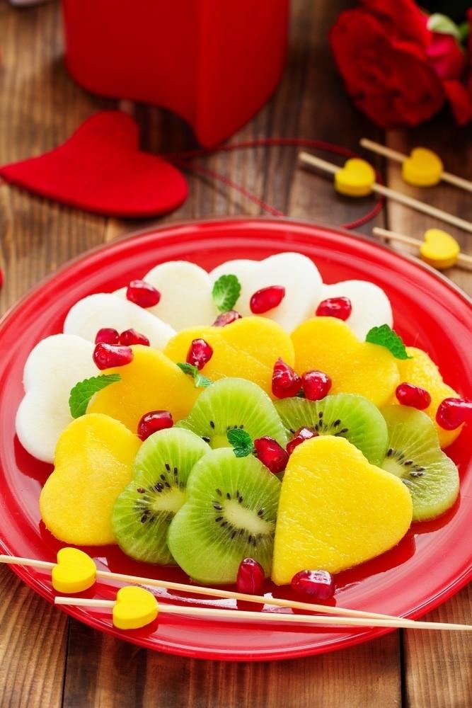 corazones de frutas