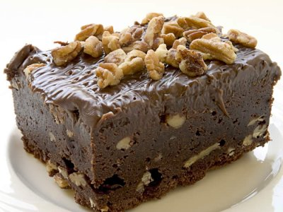 Receta de Brownies de Cocoa y Nueces