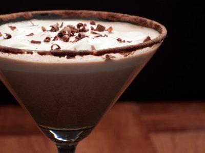 Receta de Chocolate Martini