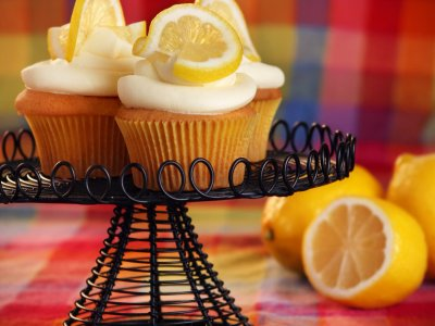 Cupcake de Limon y Merengue