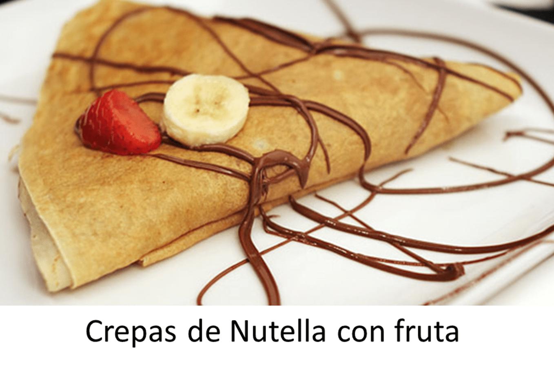Receta de crepas de nutella hechas en casa - Hacer crepes en casa ...