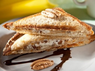 Sandwich de Queso y Chocolate