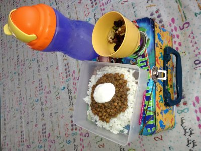 Receta de Lunch quitahambre