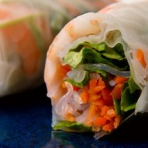 Receta de Rollos vietnamitas de atun