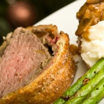 Receta de Filete de Res Wellington