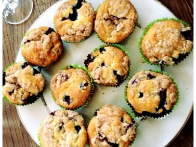 Muffins de Blueberry Espectaculares