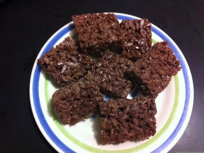 Receta de Rice Krispies