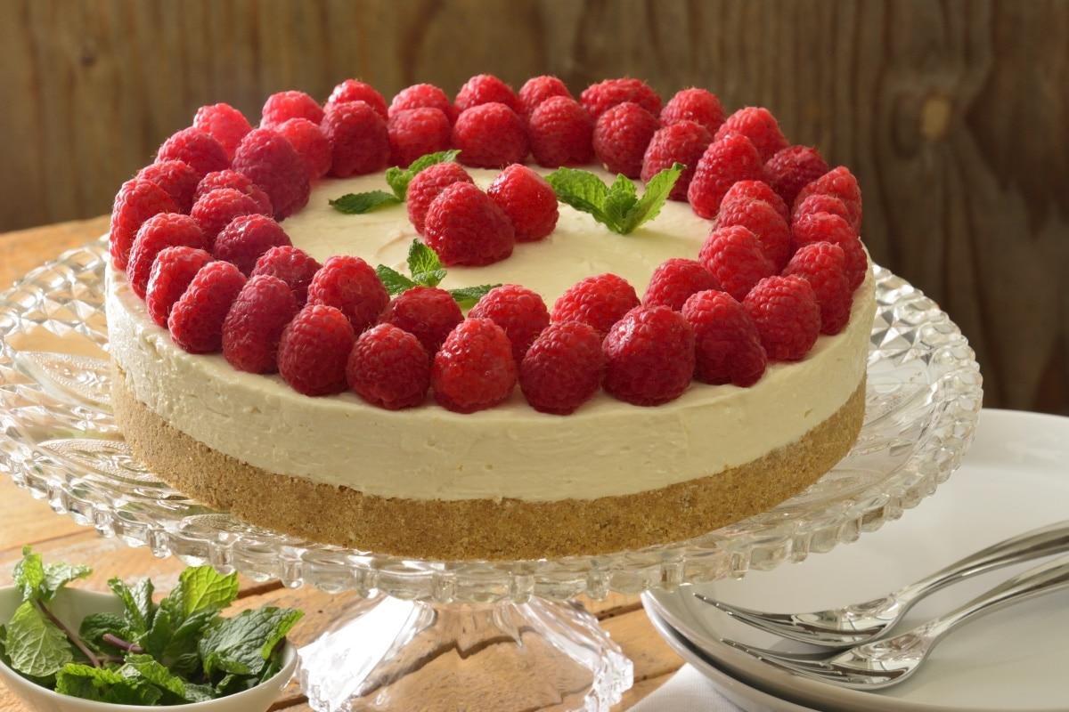 Receta de cheesecake sin hornear - Postres para hacer en casa ...