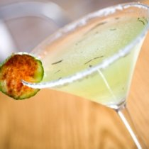 Receta de Martini de Pepino