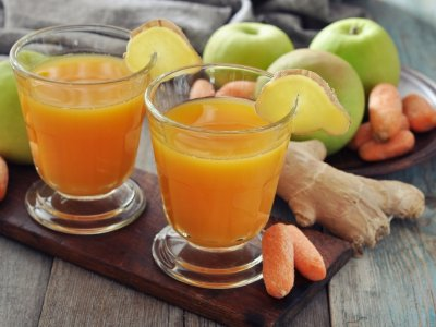 Receta de GO gaba Apple Ginger
