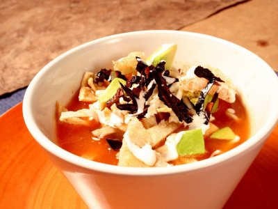 Sopa de Tortilla Light