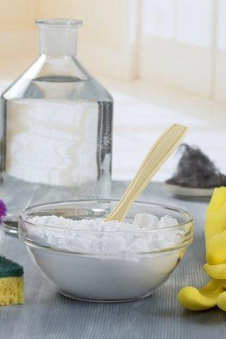 Cómo utilizar el bicarbonato para limpiar la cocina