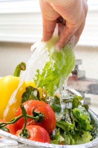 ¿Cómo lavar distintos vegetales?