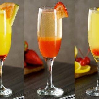 Mimosas 3 Ways
