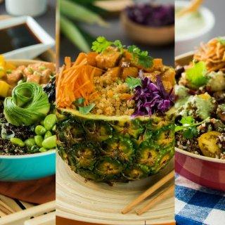 3 Quinoa Bowls