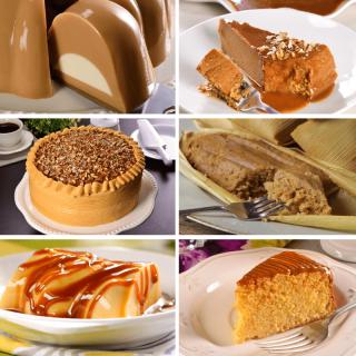 Cajeta desserts