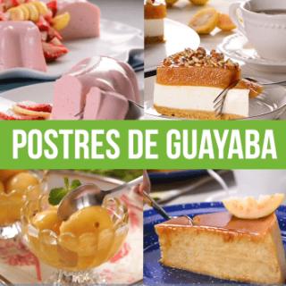 Postres de Guayaba