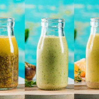 3 Homemade Vinaigrettes