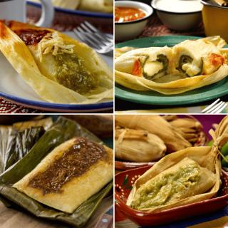 Tamales Mexicanos Salados