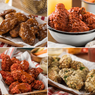 4 Recipes of Wings