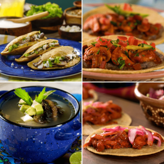 Mexican Recipes with Mushrooms