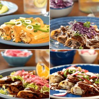 4 Recipes of Easy Enchiladas