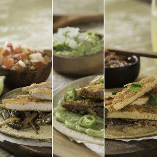 3 Tacos de Milanesa