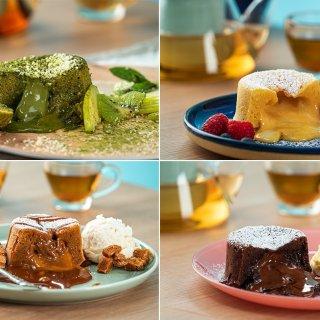 4 Molten Lava Cakes