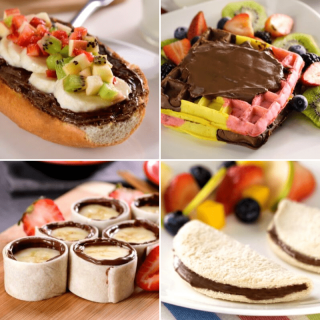 Recipes with Nutella