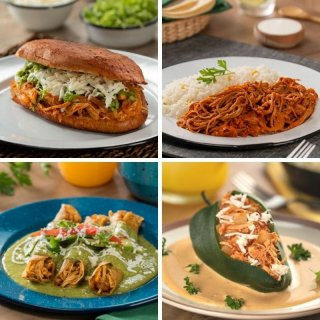 Economic recipes with tinga