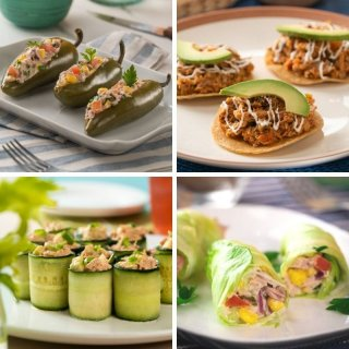 Quick recipes with canned tuna