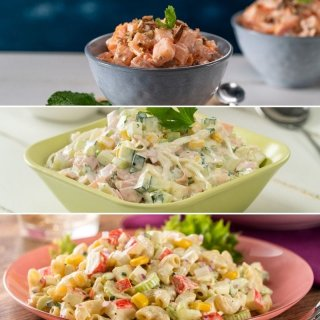 3 salads for children