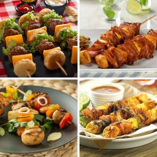 Skewers for your barbecue