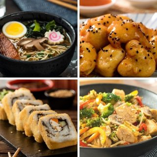 4 Asian food recipes