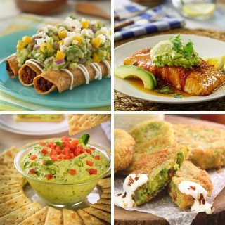 4 recipes with guacamole