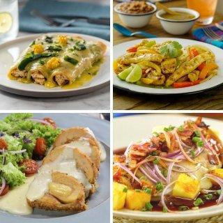 Quick recipes with 1 chicken breast
