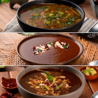 3 Soups with Beans