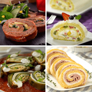 Sweet and savory rolls