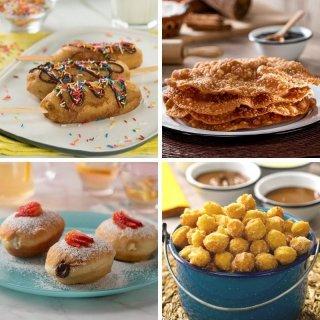4 fried desserts