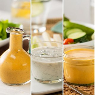 3 Salad Dressings