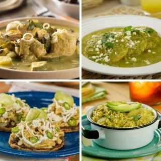 Recetas con pollo y salsa verde