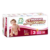 Huggies Supreme Etapa 3 Niña