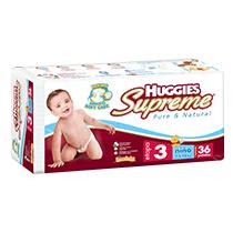 Huggies Supreme Etapa 3 Niño