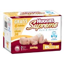 Huggies Supreme Recién Nacido Unisex