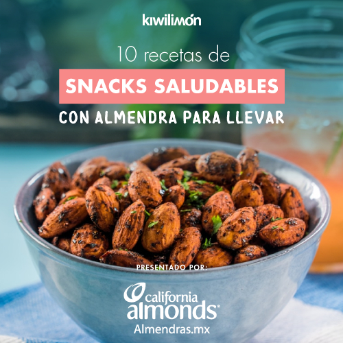 10 Recipes of Healthy Snacks with Almond to take away