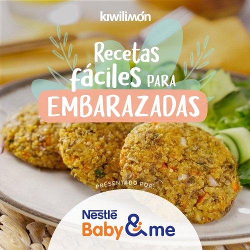 Recetas fáciles para embarazadas