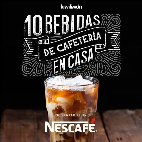 10 Bebidas de cafetería en casa